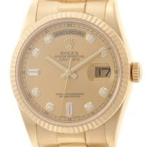 Rolex Day-Date 36 118238A Very good Yellow gold 36mm Automatic