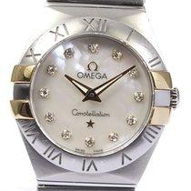Omega Constellation Quartz 24mm White