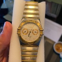 Omega Constellation Goud/Staal Wit