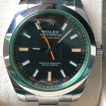 Rolex Milgauss Steel 40mm Black No numerals Thailand, Nakhon Sawan