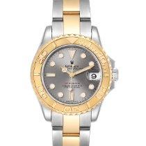 Rolex 168623 Goud/Staal 2009 Yacht-Master 35mm tweedehands