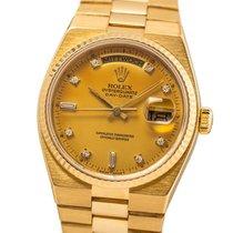 Rolex Day-Date Oysterquartz Желтое золото 36mm Золотой Без цифр