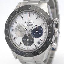 Zenith Chronomaster Sport Acciaio 41mm Bianco Senza numeri Italia, Milano