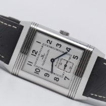 Jaeger-LeCoultre Reverso Grande Taille pre-owned 26mm Silver Leather