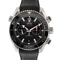 Omega Seamaster Planet Ocean Chronograph Steel 45.5mm Black No numerals UAE, Dubai