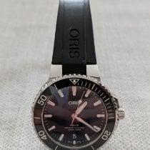 Oris 01 733 7732 4135-07 4 21 64FC Steel 2021 Aquis Date 39.5mm pre-owned
