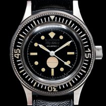 Blancpain Fifty Fathoms pre-owned Black Rubber