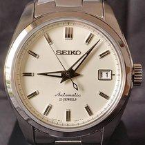 Seiko Spirit Stahl 38mm Silber Keine Ziffern