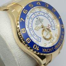 Rolex Yacht-Master II Yellow gold 44mm White No numerals UAE, Sharjah