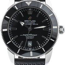 Breitling Superocean Heritage II 46 подержанные 46mm Черный Каучук