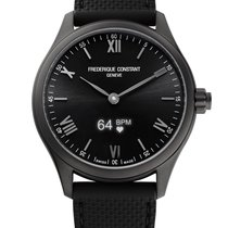 Frederique Constant Horological Smartwatch Черный Римские