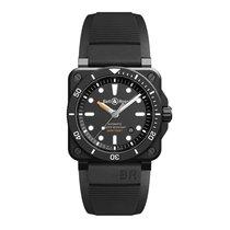 Bell & Ross BR 03-92 Ceramic новые Только часы BR0392-D-BL-CE/SRB