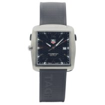 TAG Heuer Professional Golf Watch Titanium 36mm Black Arabic numerals