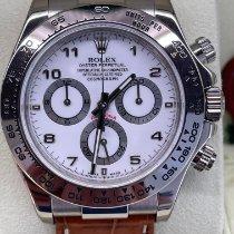 Rolex Daytona White gold 40mm White Arabic numerals United Kingdom, Rotherham