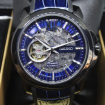 Seiko Premier Aço Azul