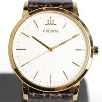 Seiko Credor Yellow gold 35mm Champagne No numerals