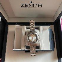 Zenith El Primero Steel 37mm White No numerals UAE, Dubai