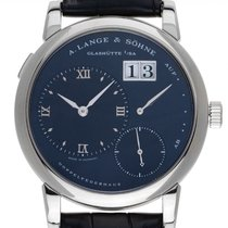 A. Lange & Söhne White gold 38mm Manual winding 101.027 pre-owned