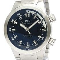 IWC 스틸 42mm 자동 IW354805 중고시계