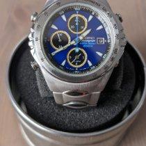 Seiko Acero 42mm Azul Sin cifras