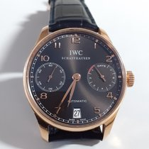 IWC 핑크골드 42.3mm 자동 IW500702 중고시계