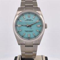 Rolex Oyster Perpetual 36 Acier 36mm Bleu Sans chiffres Belgique, Antwerpen