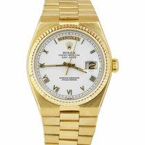 Rolex Day-Date Oysterquartz Yellow gold 36mm White Roman numerals United States of America, New York, Massapequa Park
