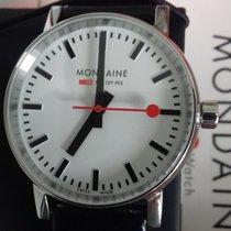 Mondaine Evo new 2021 Quartz Watch with original box and original papers MSE.35110.LB