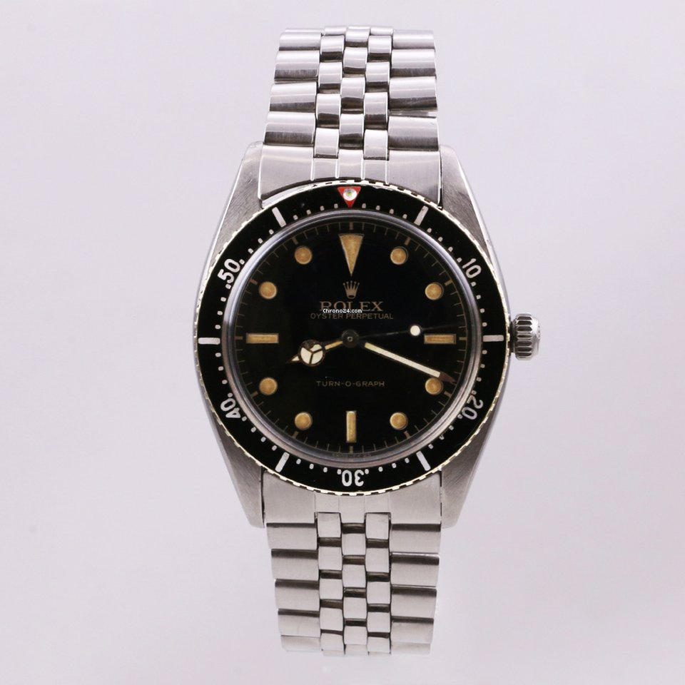 Rolex Datejust Turn-O-Graph 6202 1953 usato