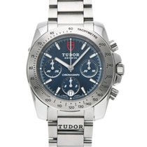 Tudor Sport Chronograph Acero 41mm Azul