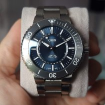 Oris Aquis Date Steel 43.5mm Blue No numerals United Kingdom, London