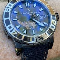 Carl F. Bucherer new Automatic Luminous hands Luminous indices PVD/DLC coating 44.60mm Titanium Sapphire crystal