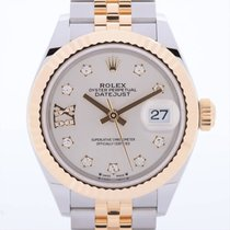 Rolex (ロレックス) レディース デイトジャスト 新品 自動巻き 正規のボックスと正規の書類付属の時計 279173G