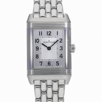 Jaeger-LeCoultre Reverso Classic Small Duetto Stahl 34.2mm Silber