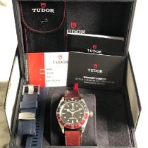 Tudor Black Bay GMT Steel 41mm Black No numerals United States of America, Maryland, waldorf
