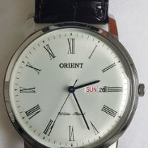 Orient Steel 40mm Silver Roman numerals United States of America, Texas, Georgetown