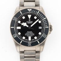 Tudor pre-owned Automatic 42mm Black Sapphire crystal 50 ATM