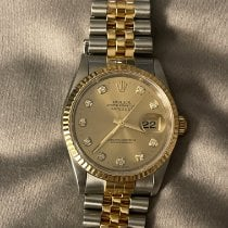 Rolex 16233 Gold/Steel 1997 Datejust 36mm pre-owned United States of America, New York, Brooklyn