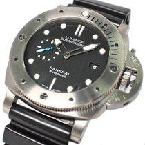 Panerai Luminor Submersible 1950 3 Days Automatic Titanio 47mm Negro