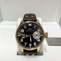 IWC Big Pilot Rose gold 46mm Brown Arabic numerals