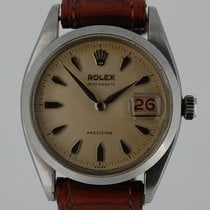 Rolex 6494 Steel 1957 Oyster Precision 34mm pre-owned