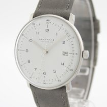 Junghans max bill MEGA Titanium 38mm White Arabic numerals
