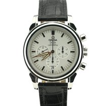 Omega De Ville Co-Axial Staal 41mm Zilver