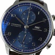 IWC nuevo Automático Estado original/piezas originales 41mm Acero Cristal de zafiro