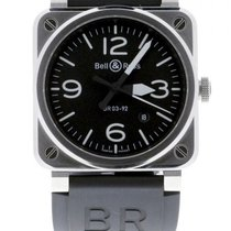 Bell & Ross BR 03-92 Steel BR0392-BLC-ST New Steel 42mm Automatic