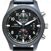 IWC Pilot Chronograph Top Gun Cerâmica 46mm Preto