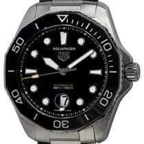 TAG Heuer WBP201A.BA0632 Steel 2021 Aquaracer 300M 43mm pre-owned United States of America, Texas, Austin
