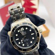 Omega Seamaster Diver 300 M Gold/Steel 42mm Black No numerals UAE, Abu Dhabi