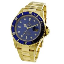 Rolex Submariner Date 16618 Good Yellow gold 40mm Automatic United Kingdom, Sheffield
