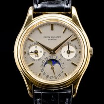 Patek Philippe Yellow gold Automatic 36mm Perpetual Calendar